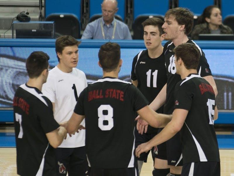 Men's volleyball swept in MIVA quarterfinals