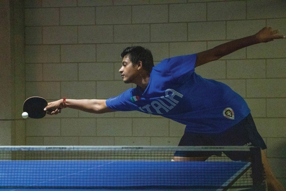 Ball State ping pong club offers a community for players of all levels