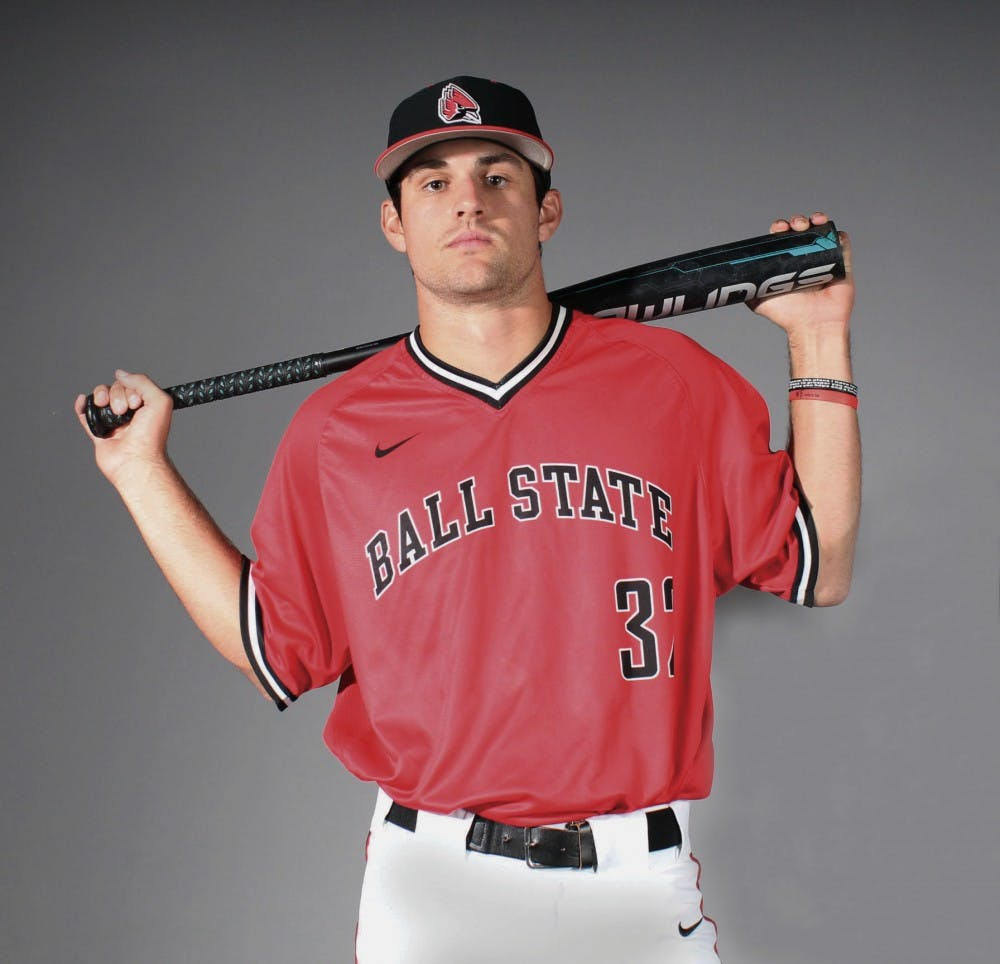 <p>Will Baker is a senior at Ball State majoring in history. Baker plays outfield for Ball State's baseball team. Michaela Kelley,DN</p>