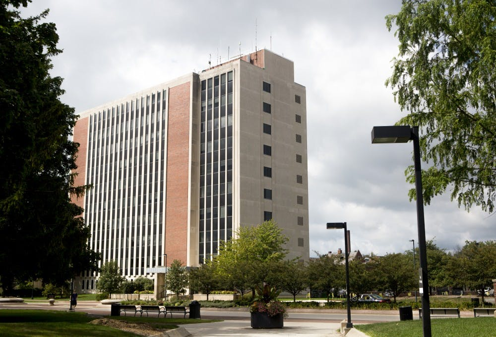 <p>Student enrollment in the teacher education program has reportedlydeclined 25 percent. The teachers college was one of the first college at Ball State. DN PHOTO JORDAN HUFFER</p>