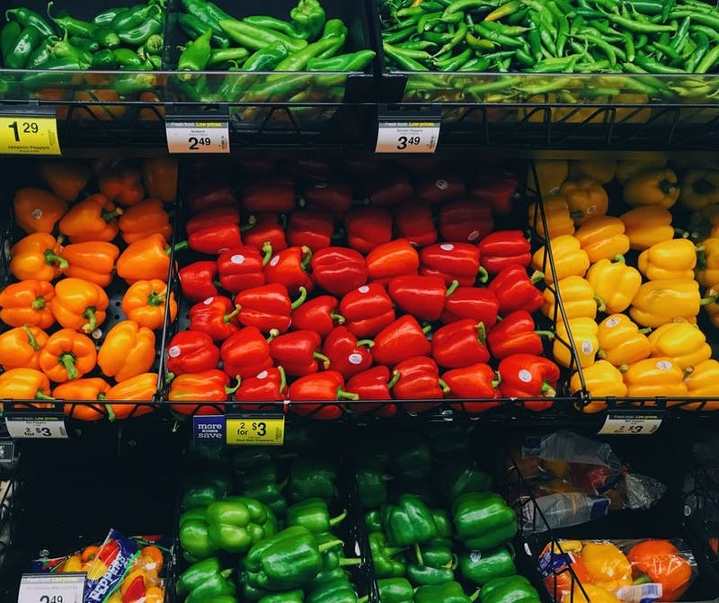 Grocery shopping can add up but taking coupons and a shopping list can help keep the cart from weighing more than the wallet. Photo Courtesy, Unsplash.