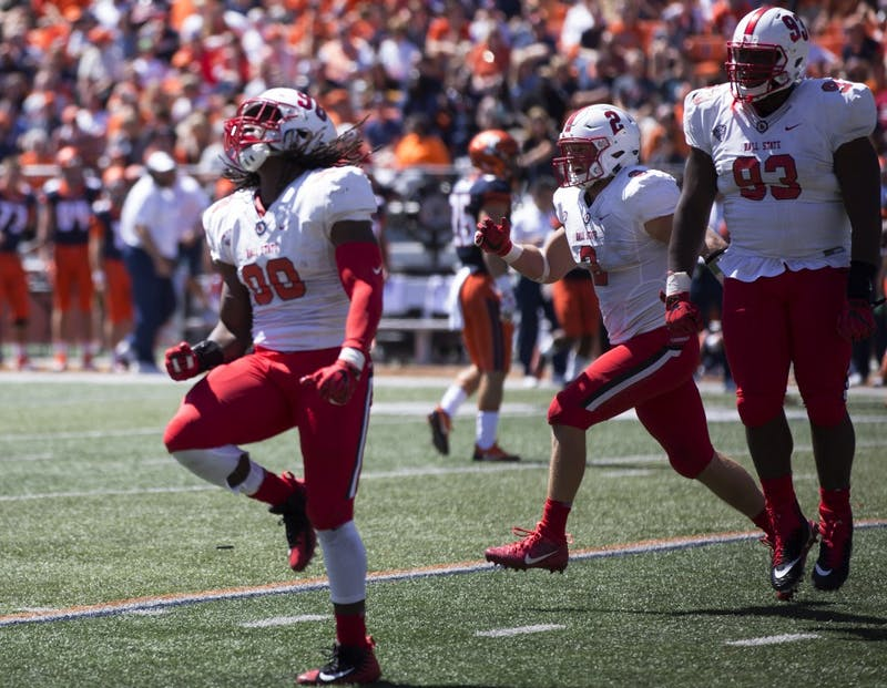 Defense steps up in Ball State's loss to Illinois