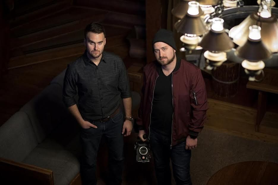 Andrew Bennett (left) and Kenneth Stevenson are the co-founders of Versa Media which is a company that features Cerebral, a science fiction classic tv show. Versa Media, DN provided