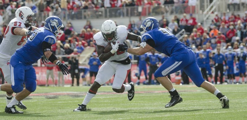 FOOTBALL: Rushing attack comes to halt