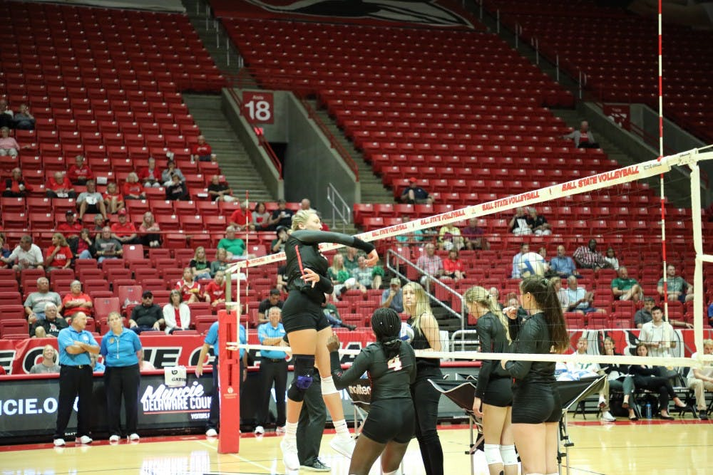 Ball State Women's Volleyball splits home-opening tournament