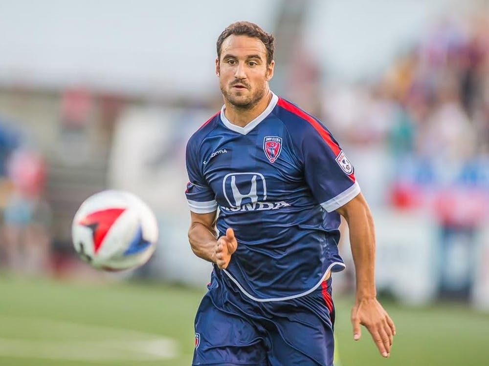 Indy Eleven forward Eamon Zayed will be a volunteer assistant with Ball State soccer.Trevor Ruszkowski // Photo Provided