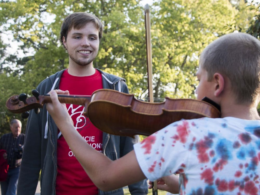 Minnetrista hosted Picnic with the Pops on Aug. 26 featuring the Muncie Symphony Orchestra, with performances by the Pride of Mid-America as well.