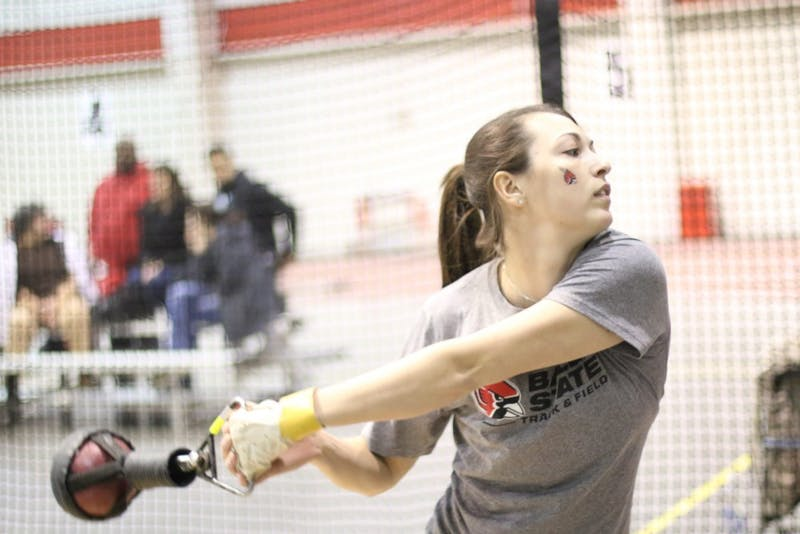 Track and field sends 5 members to Polar Bear Invitational