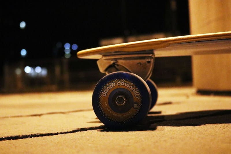 Boosted boards are electric long boards which allows users to cruise from one point to another. University Police Chief Jim Duckham said skateboards are prohibited so a similar stance would be taken regarding boosted boards. Jacob Haberstroh, DN