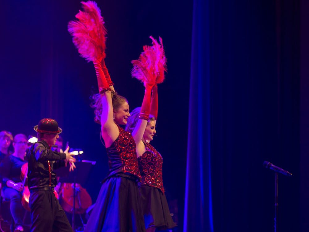 The University Singers Spectacular Show on Friday, April 10th, 2015 at Emens Auditorium. DN PHOTO JESSICA LYLE
