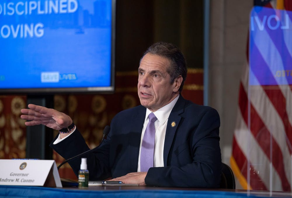 New York Gov. Andrew M. Cuomo. (Mike Groll/Office of Governor Andrew M. Cuomo/TNS)