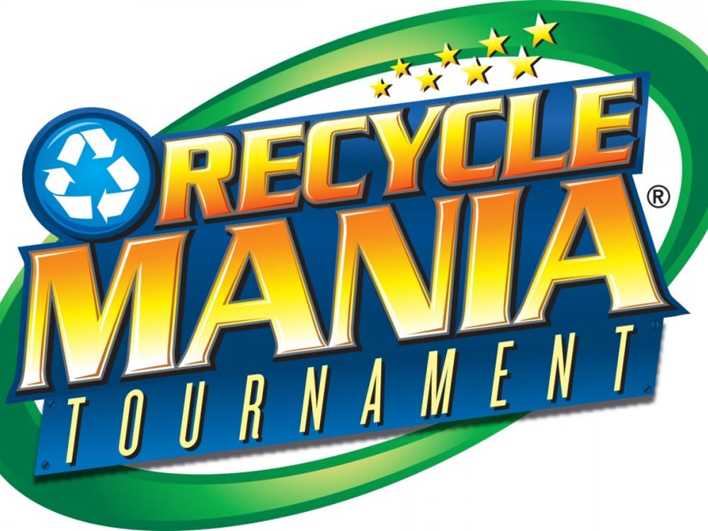 Ball State and 300 colleges in the nation-wide competition, RecycleMania. The tournament pits universities against each other to see who can increase their recycling rates the most from now until April 1. RecycleMania // Photo Courtesy