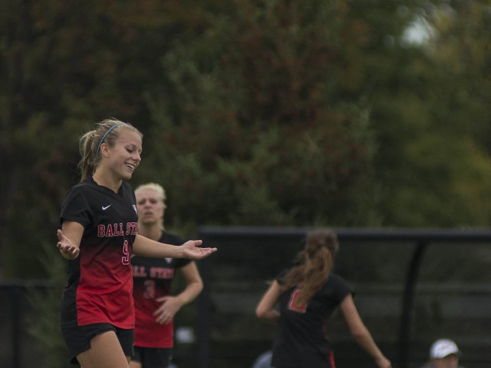 Ball State women's soccer competed at Northern Illinois on Oct. 8. The Cardinals lost 3-2.