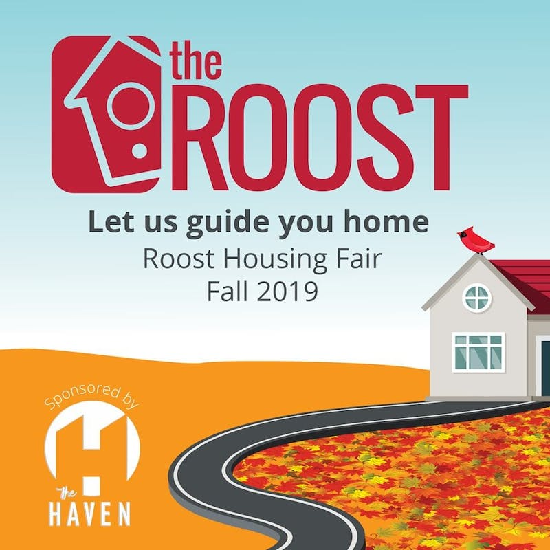 Come fly around at the Roost Housing Fair!