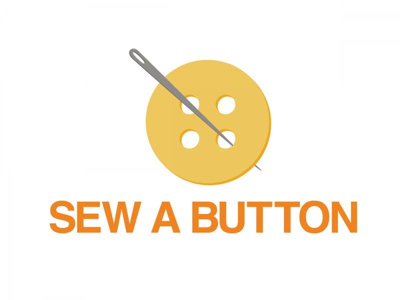 GRAPHIC: Learn how to sew a button