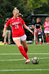 Ball State Soccer Plays Ohio