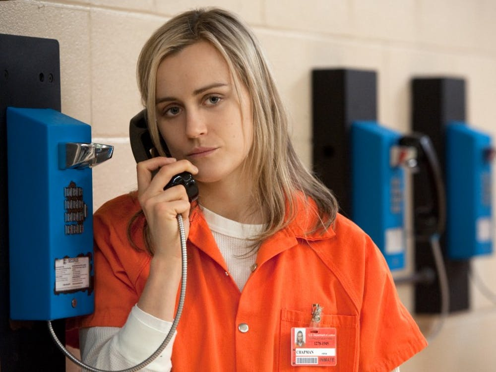 Taylor Schilling in a scene from Netflix