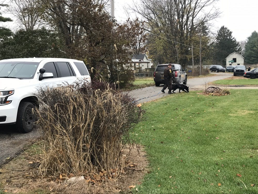 The Muncie Police Department and Delaware County Sherrif's Department search Oakville, Indiana, for Daniel Len Montero, who was involved in a shots fired incident. The hunt is currently underway as police search Muncie and surround areas for Montero. Mary Eber, Daily News