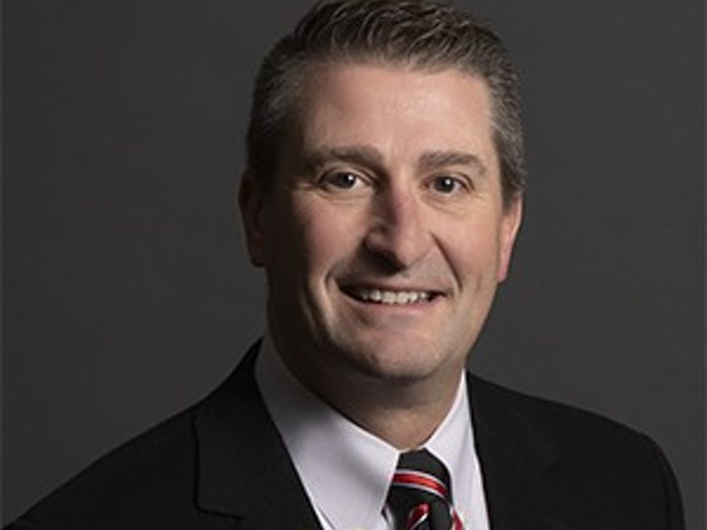 Mark Hardwick was appointed to Ball State's Board of Trustees by Indiana Gov. Eric Holcomb in December 2019. The executive vice president, COO and CFO of Muncie's First Merchants Corporation will serve on the board until December 2023. Ball State University, Photo Courtesy