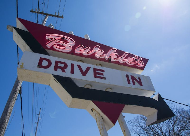 Burkie's Drive-in now for sale