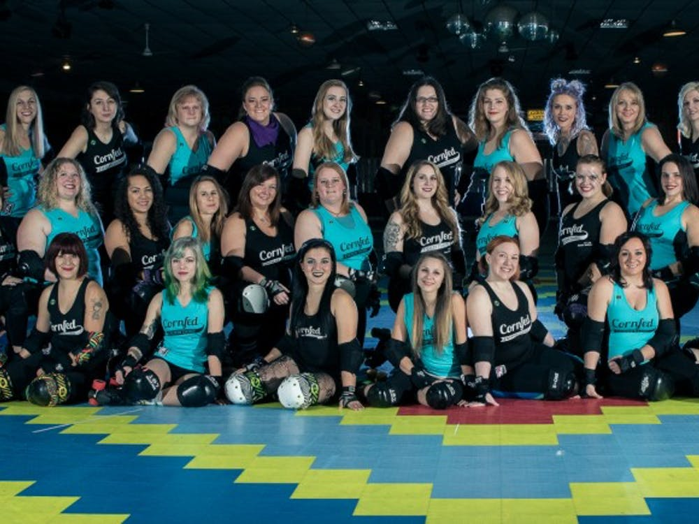 Muncie's all-women roller derby team, the Cornfed Derby Dames, will start their seventh seasonin the Women's Flat Track Derby Associationon Feb. 26. The team was founded in 2010 and is comprised of over 30 skaters whocompete in numerous home and away meets and tournaments throughout the Midwest.Jessie Fisher // Photo Provided