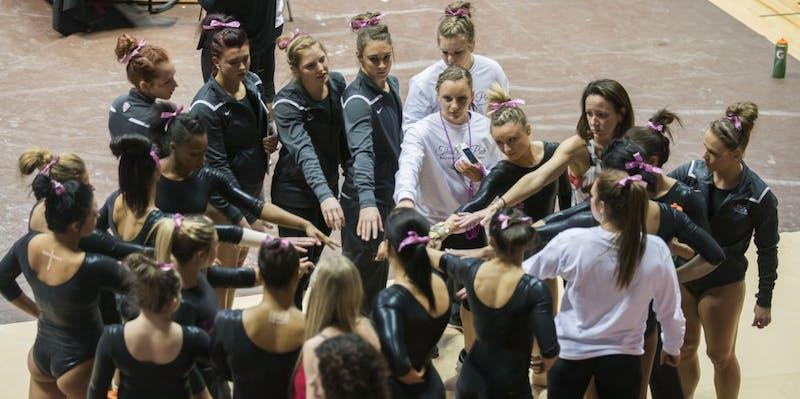 Five gymnasts look forward to NCAA regional
