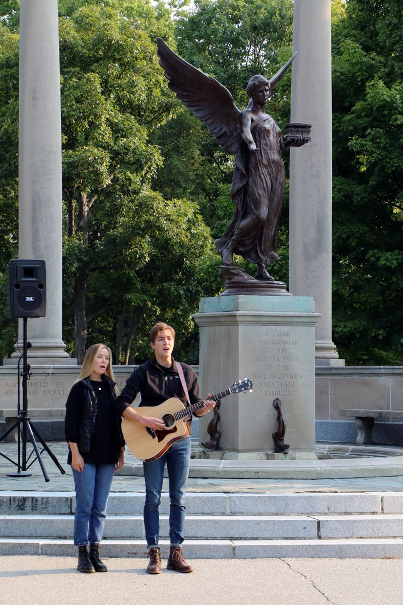 9/11 memorial event at Beneficence