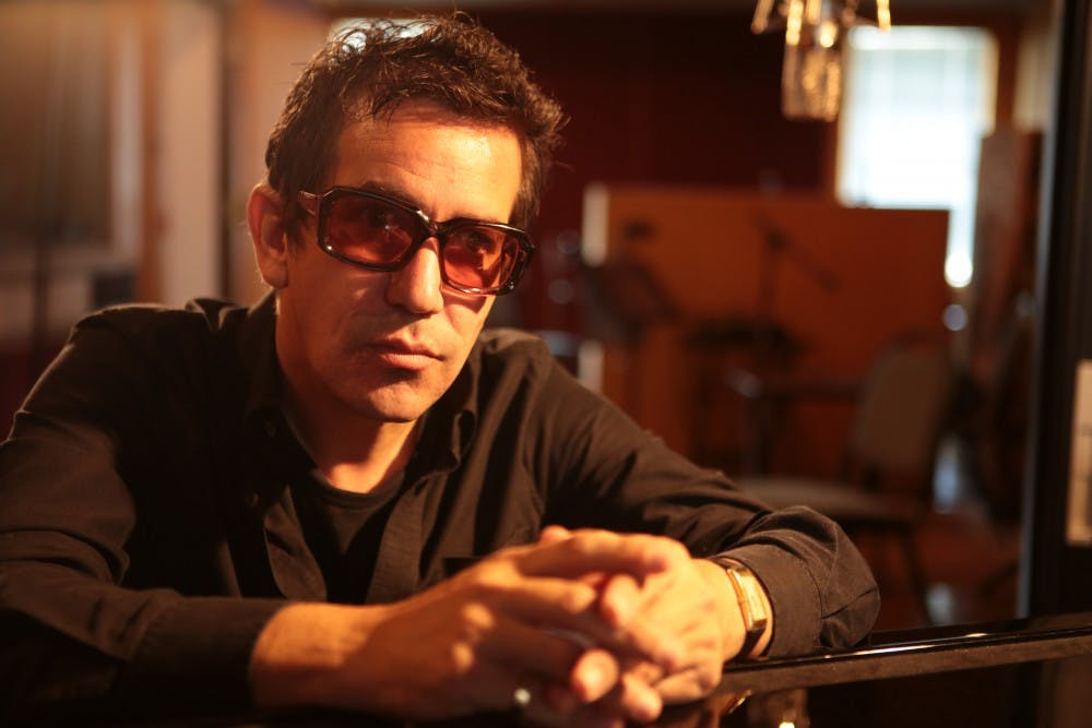 <p>AJ Croce poses for album cover in 2017. Croce has released nine albums throughout the course of his career and has plans for more. Wendy Brynford-Jones, Photo provided.&nbsp;</p>