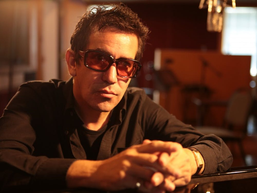 AJ Croce poses for album cover in 2017. Croce has released nine albums throughout the course of his career and has plans for more. Wendy Brynford-Jones, Photo provided.