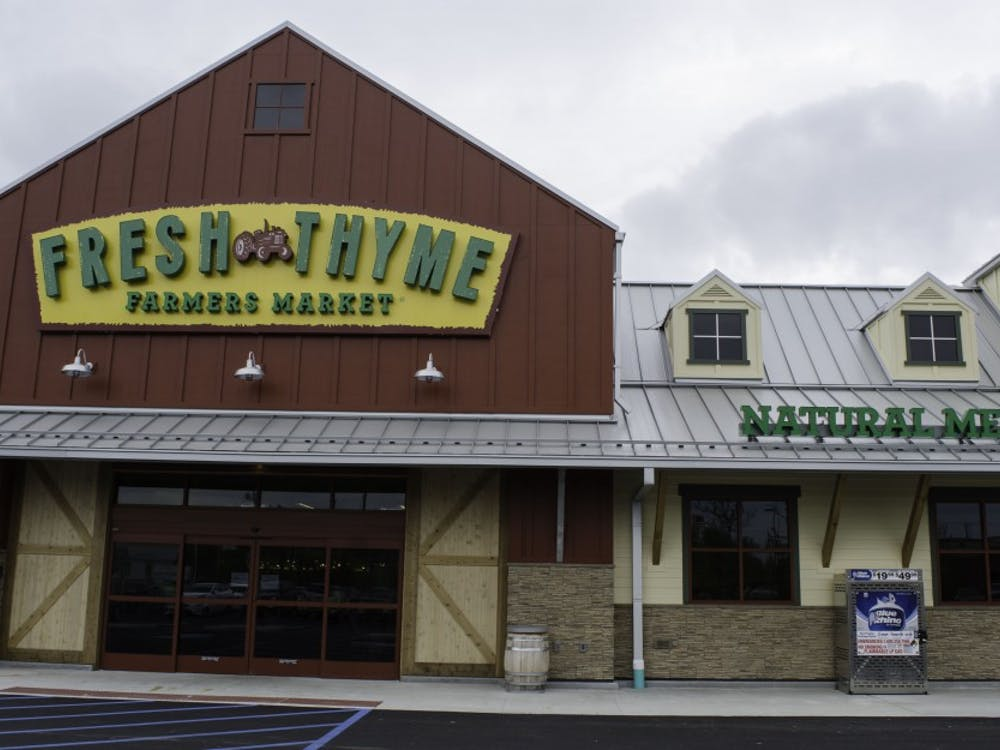 Fresh Thyme, an organic farmers market, is opening on May 17 which is located on West McGalliard road, next door to Chick-fil-A. Stephanie Amador, DN