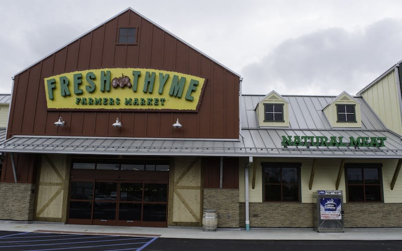 Fresh Thyme set to open in Muncie Thursday