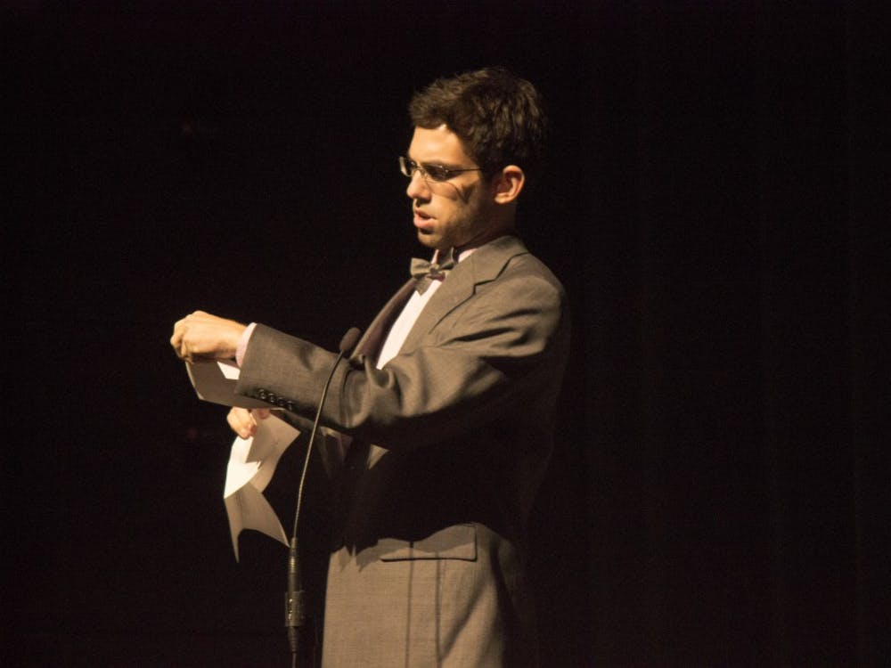 The Talent Search took place on Oct. 7 at John R. Emens Auditorium as a part of Homecoming Week.