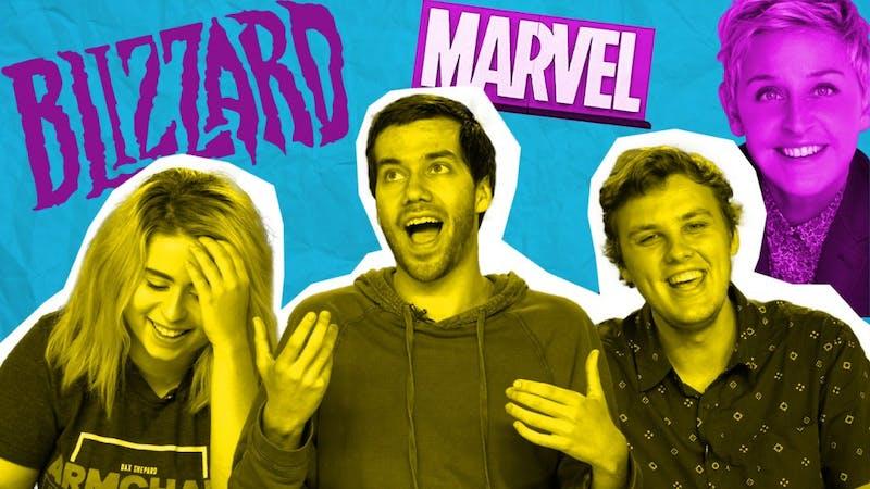 Blizzard Bans, Scorsese on Marvel, Ellen and George Bush | Pop Tabs