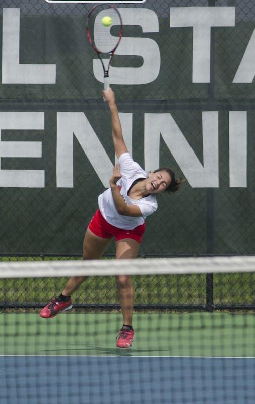 RECAP: Ball State women's tennis vs. Akron