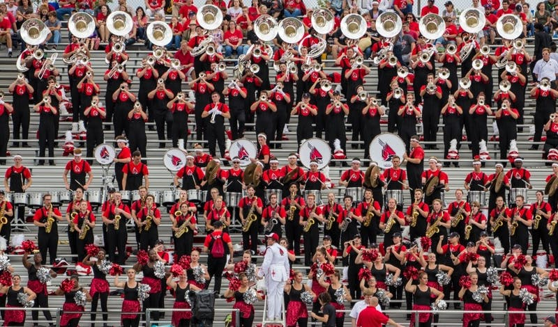 GIST WITH JACK: Ball State marching band provides different Family Weekend experience
