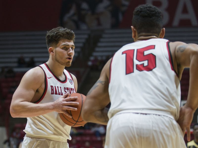 Persons, House carry Ball State men's basketball to victory over Western Michigan