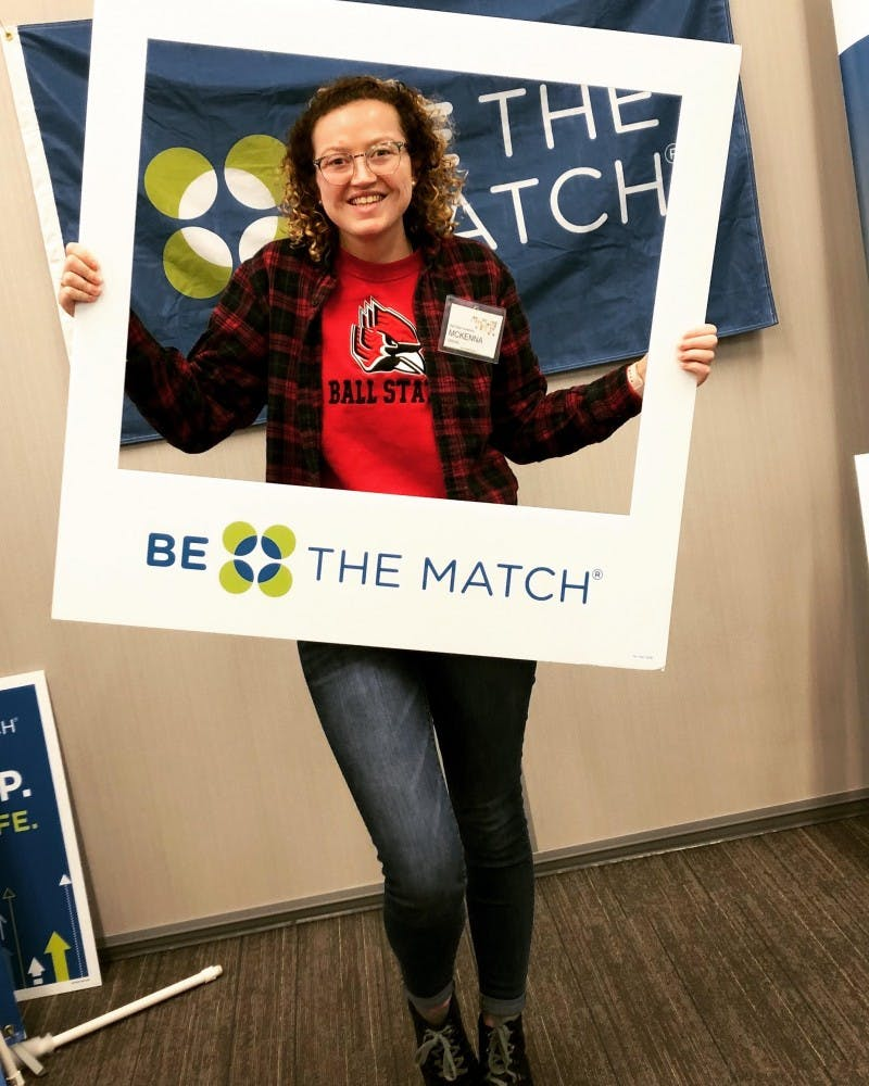 President of Ball State's chapter of Be The Match shares her experience with rare disease