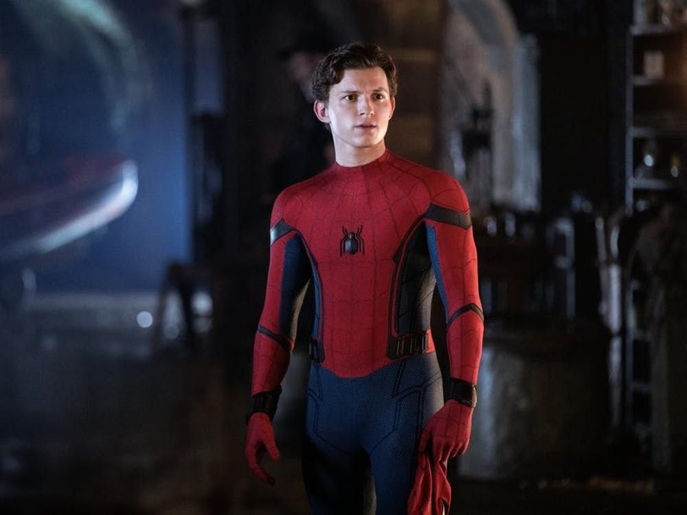 "Tom Holland in ""Spider-Man: Far From Home."" Photo courtesy, TNS"