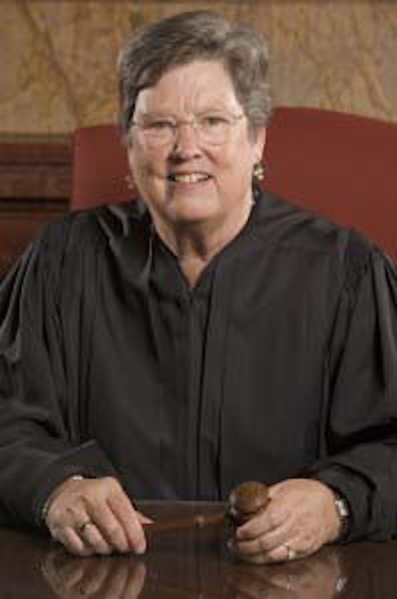 Judge Sarah Evans Barker has been a senior judge for the Southern District of Indiana for almost five years. Barker has served as a member of the Judicial Conference of the United States, Long Range Budget Committee, Standing Rules of Procedure Committee and the Judicial Branch Committee. Southern District of Indiana, photo courtesy.