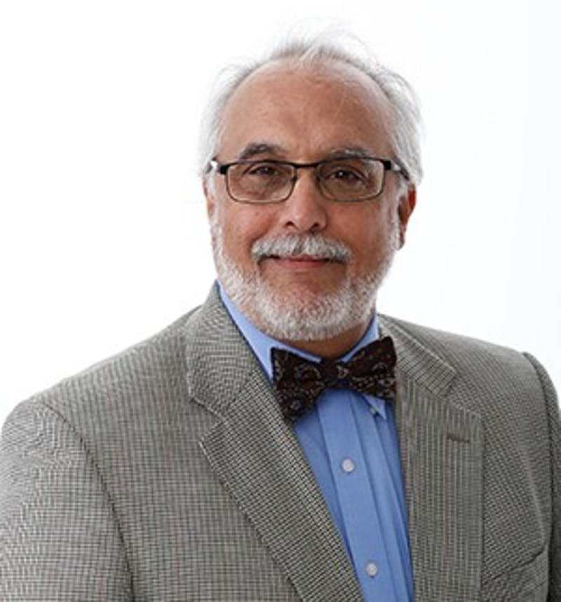 George Gannage, assistant teaching professor of marketing and assistant director of the Center for Professional Selling in the Miller College of Business, died April 6, 2020, in Bloomington, Indiana, after suffering from a severe respiratory virus. Gannage joined Ball State's marketing faculty in August 2017. Ball State University, Photo Courtesy