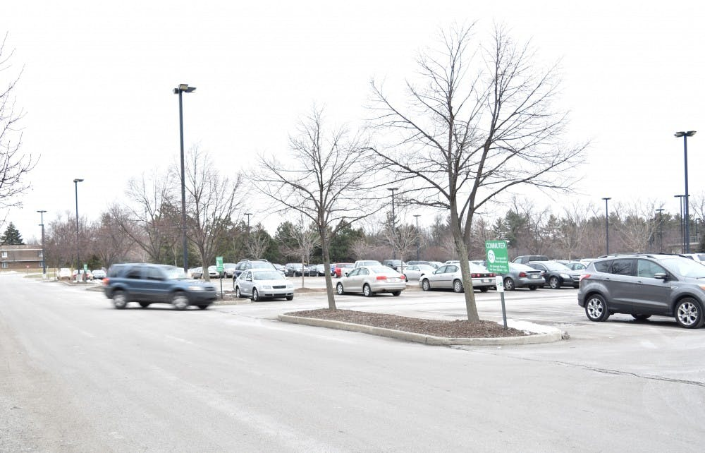 """<p>Several parking lots on Ball State's campus will receive repairs beginning at the end of May and continuing into the middle part of July.&nbsp;<i style=""""background-color: initial;"""">STEPHANIE AMADOR // DN FILE</i></p>"""