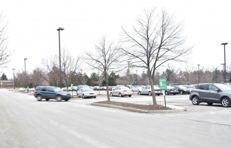 Several parking lots on Ball State's campus will receive repairs beginning at the end of May and continuing into the middle part of July. STEPHANIE AMADOR // DN FILE