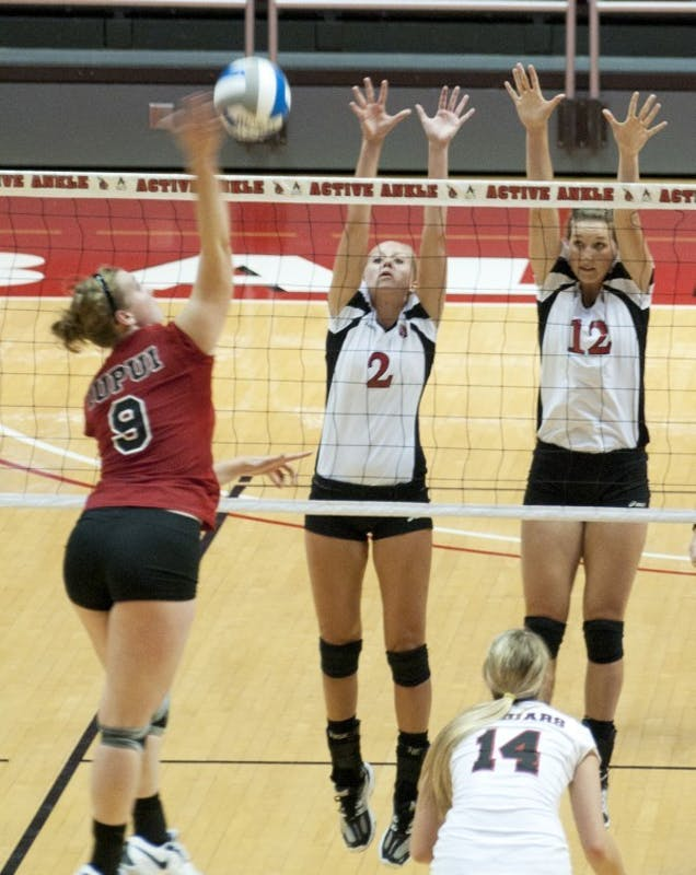 WOMEN'S VOLLEYBALL: Comeback makes weekend for Ball State