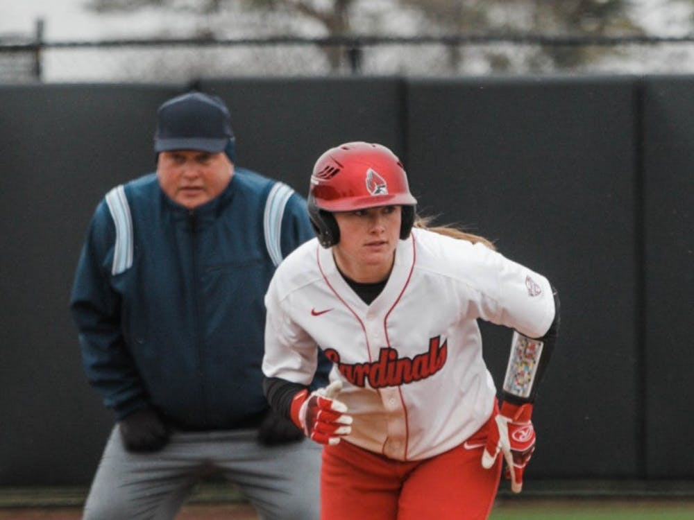 Ball State's softball team competed in a doubleheader against Kent State at the Softball Fields in First Merchants Ballpark Complex. The Cardinals lost the first game 2-5 and won the second game 15-7.