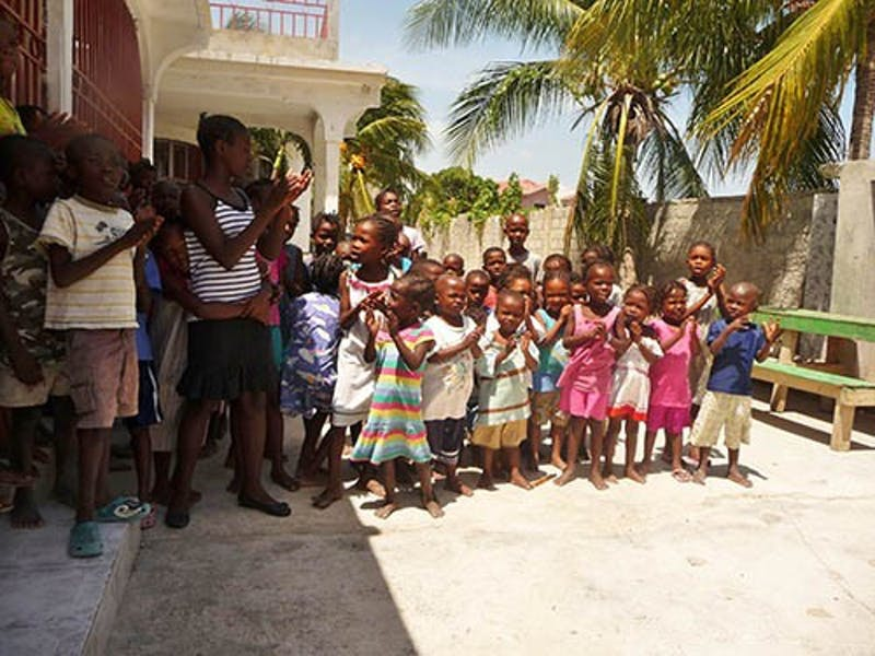 Architecture student travels to Haiti to plan orphanage