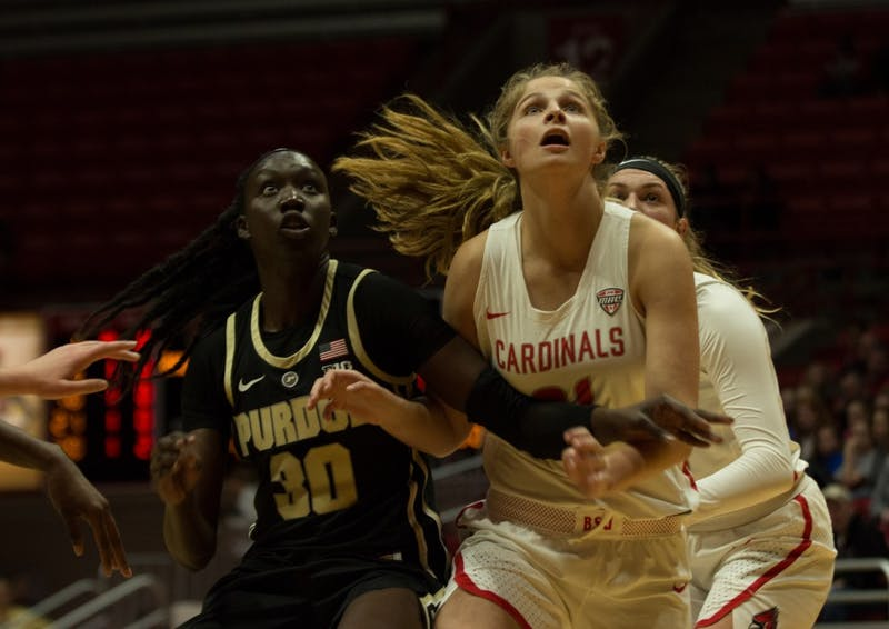 Purdue routs Ball State Women's Basketball 80-38 in season opener