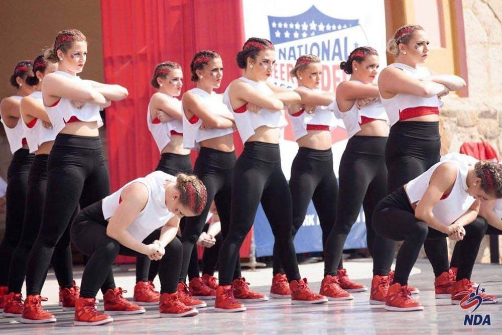 Code Red dance team dances its way to sixth place