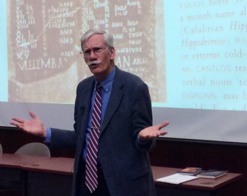 Where they were before: Professor has studied, taught, experienced history