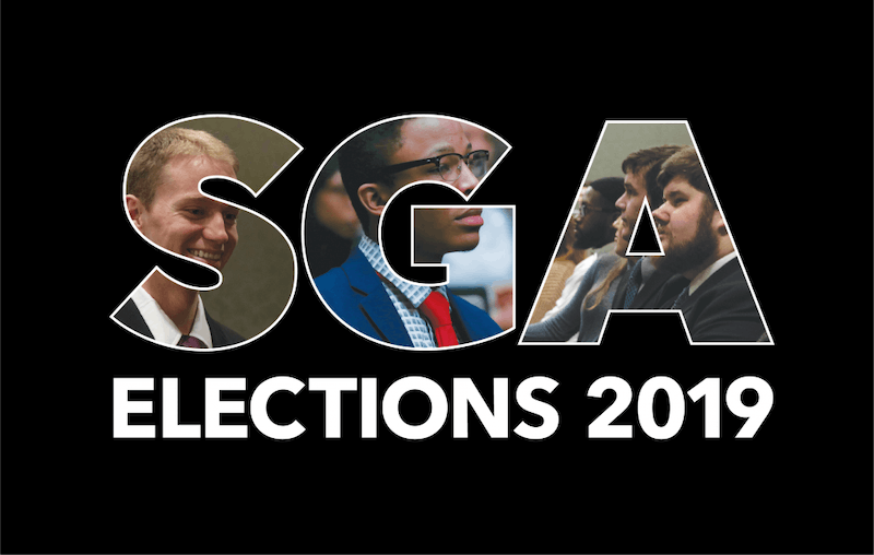 The three slates running in Ball State's 2019 Student Government Association (SGA) Election have made several promises to the students in the form of their platform points. SGA, whose purpose is to serve as a voice for the students to the university, has impacted Ball State through its legislation. Photos: Scott Fleener, DN; Graphic: Emily Wright, DN