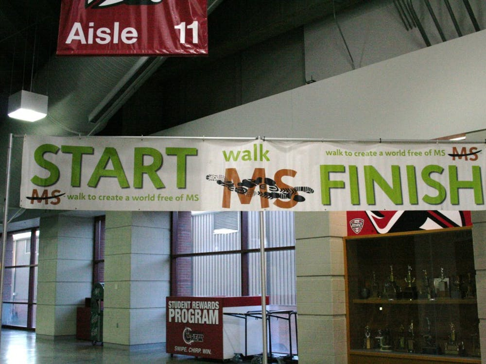 The Walk MS for Multiple Sclerosis took place on March 29 at Worthen Arena.